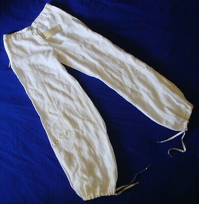 Colto Trousers Line Vintage Woman Richmond X Made Italy Tg.46 Circa M/l New! Rare Facile Da Riparare