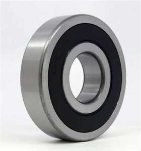 15mm OD 32mm Width 13mm 63002-2RS1 Radial Ball Bearing Double Sealed Bore Dia