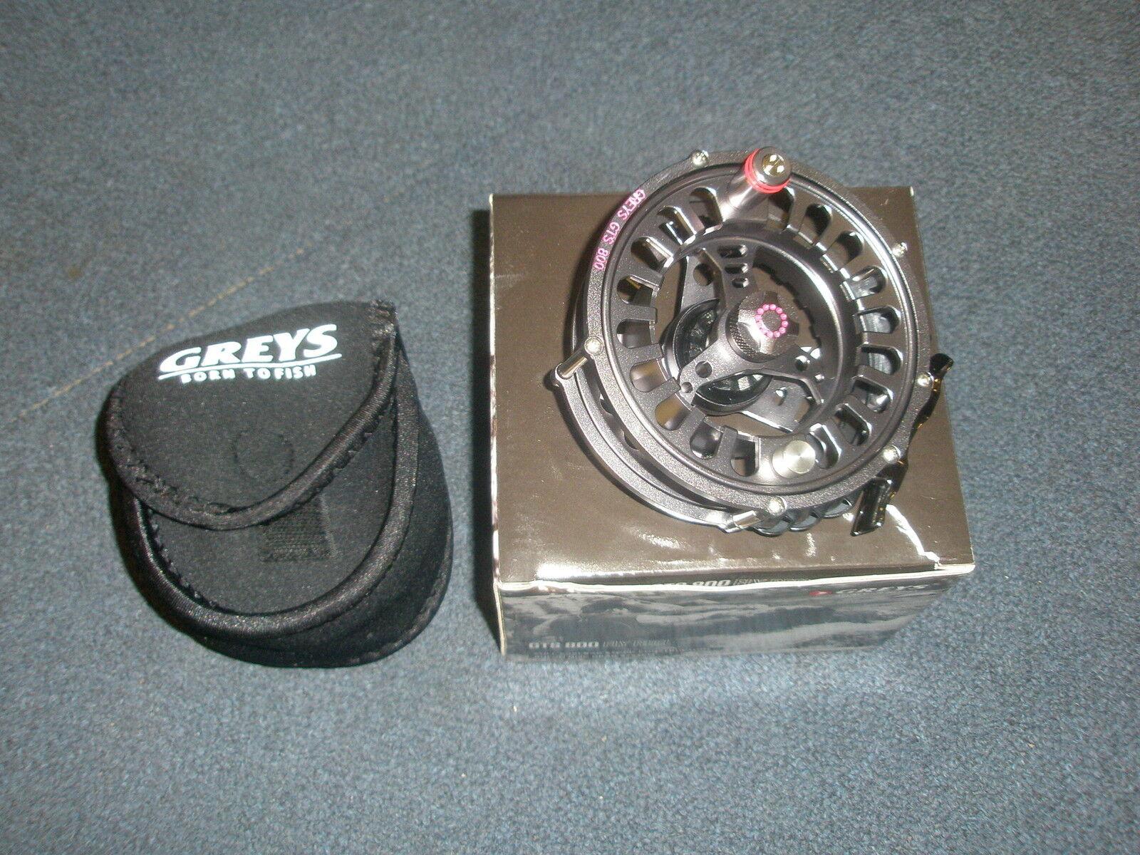 griss GTS800  7-8 Fly Reel  + Bolsa De Neopreno aparejos de pesca  salida para la venta