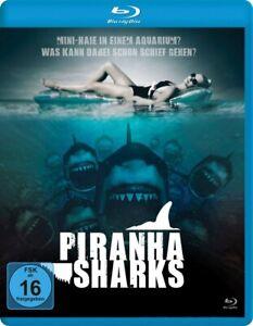 PIRANHA SHARKS (BLU-RAY) - LEIGH,SCOTT   BLU-RAY NEW