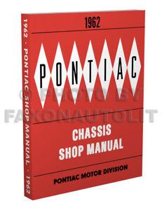 1962 pontiac shop manual bonneville catalina grand prix star chief rh ebay com 2007 Pontiac Bonneville 2000 pontiac bonneville service manual