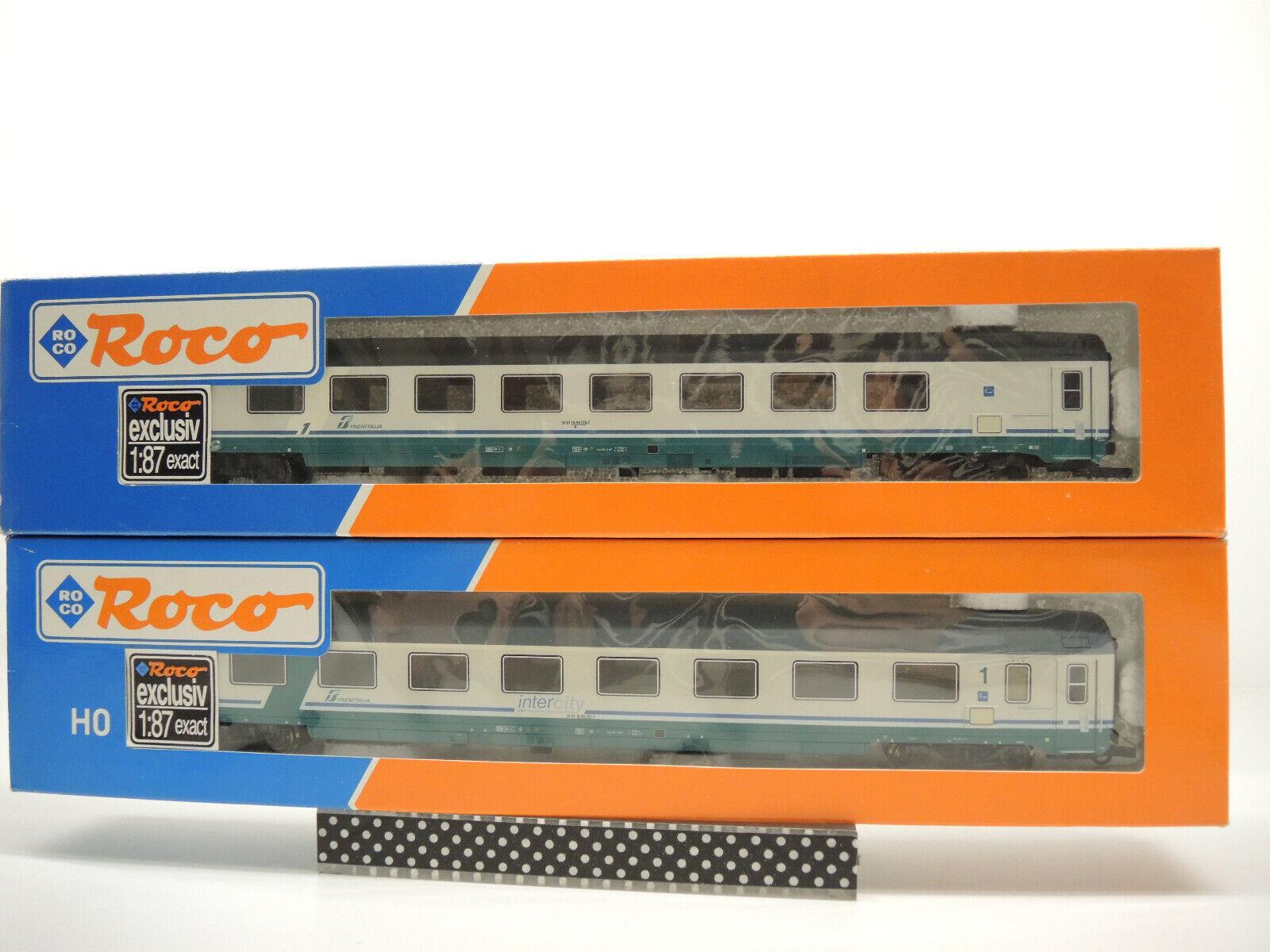 Roco 45431 45639. 2 x Trenitalia InterCity a los turismos kkk OVP leer texto