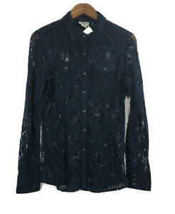NWT-Ariat-Women-s-Size-M-Fitted-Lace-Pearl-Snap-Front-Western-Shirt-Blouse