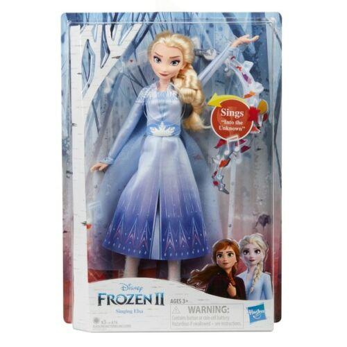Disney Frozen 2 Singing Elsa Fashion Doll Brand New *