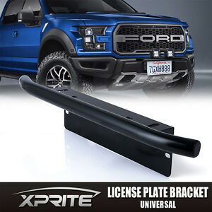 Xprite front bumper license plate mount bracket 20w 4d off road led image is loading xprite front bumper license plate mount bracket 20w mozeypictures Gallery