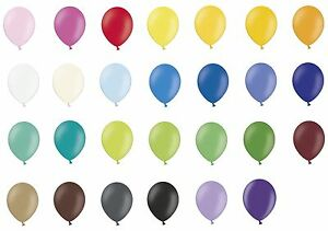 50-plain-10-034-Latex-Party-Balloons-Choose-from-27-colours-Belbal-Quality-Brand