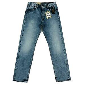 Levi-s-501-Skateboarding-Original-Straight-Blue-Jeans-Size-W31-L32