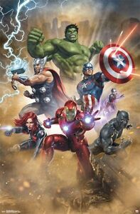 HEROES COLLAGE POSTER MARVEL COMICS 22x34-17024