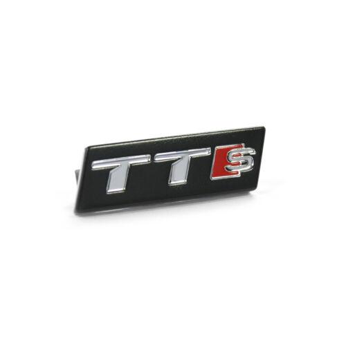 Original Audi TTS Lenkrad Plakette Emblem Clip Sportlenkrad Lenkradclip OEM