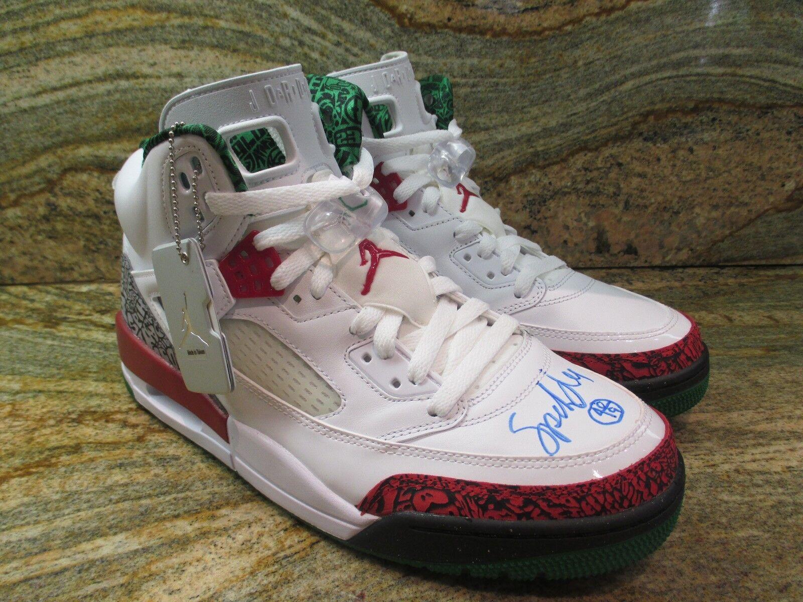 Nike Air Jordan Spizike Lee OG SZ 10 Spike Lee Spizike Autographed blanc Retro 315371-125 855d22