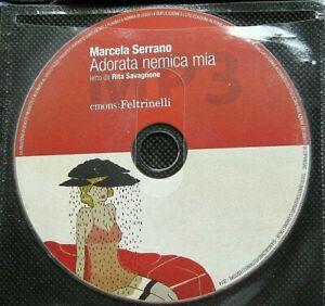 Audiolibro audio book cd MP3  ADORATA NEMICA MIA - Marcela Serrano / USATO