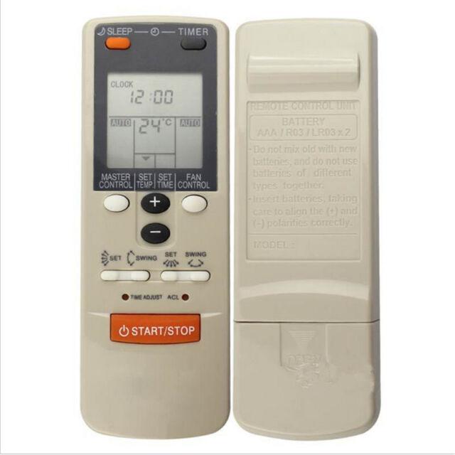 Air Conditioner Replacement Remote Control For Fujitsu AR-JW1, AR-HG2, AR-DB1 GN