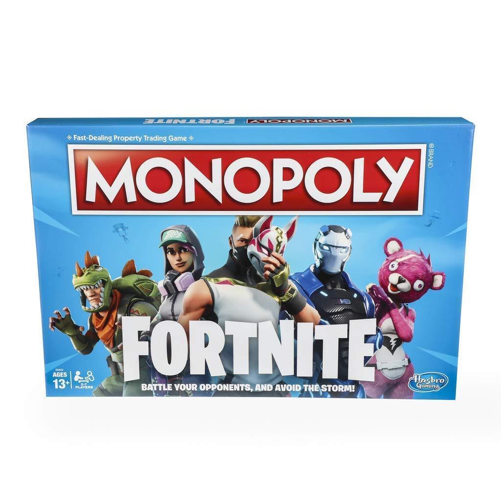 Monopol  fortnite collectors edition schnell umgang mit brettspiel hasbro