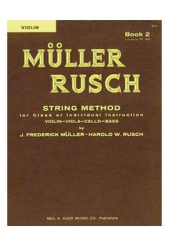 Violin Muller-Rusch String Method Book 2