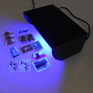 Amazing Image Is Loading  365nm Longwave UV Blacklight Stamps Money Fluorescence Detector