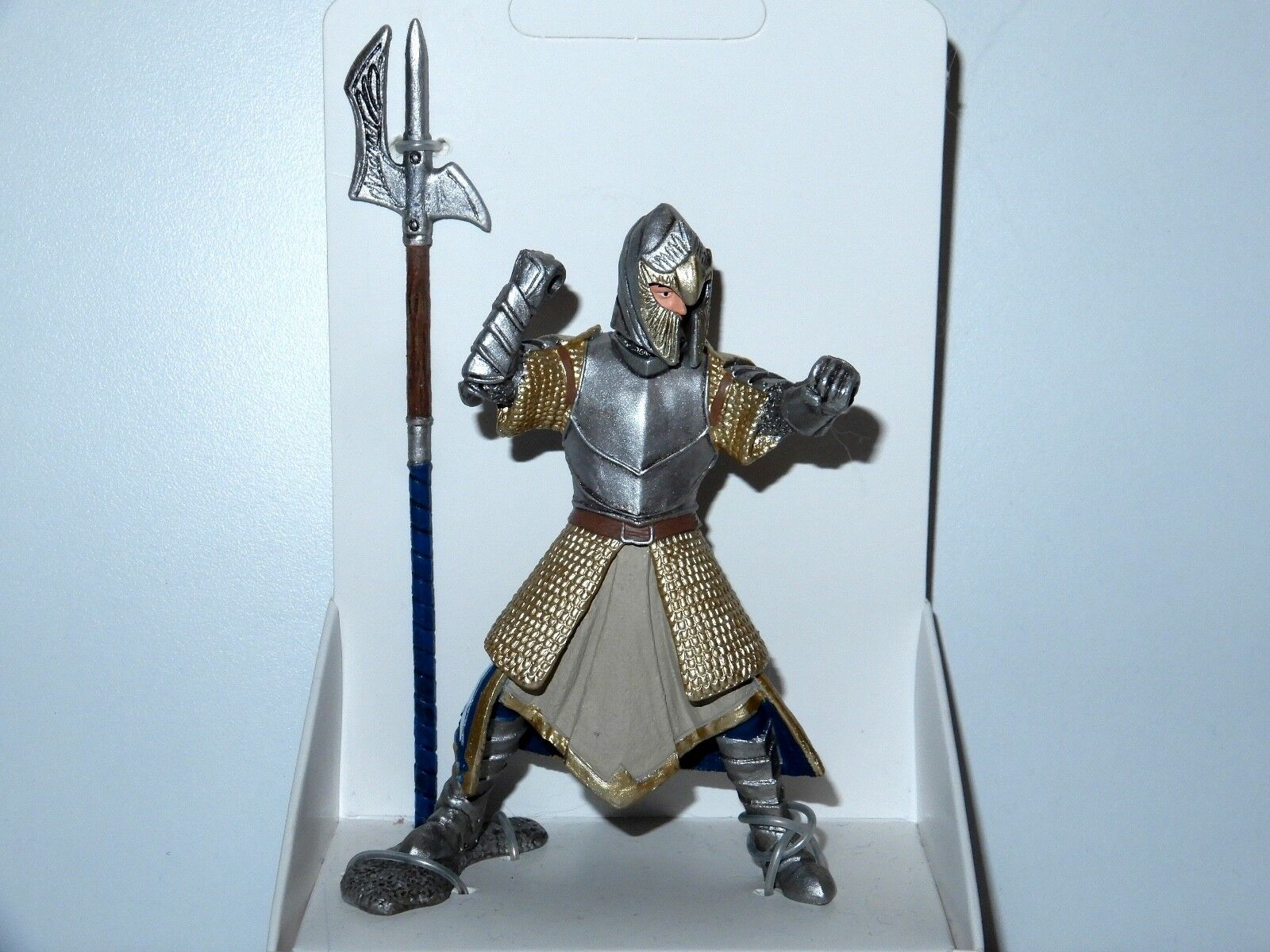 FANTASY WORLD 70113 GRIFFIN KNIGHT WITH HALBERD TEST SHOT PROTOTYPE PACKAGING