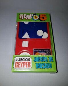 """ANTIGUO JUEGO GEYPER """" TIEMPO 5 """" Ref. 777 JUEGOS DE BOLSILLO GEYPER - 1980"""