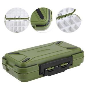 30-Grid-Double-Sided-Waterproof-Storage-Case-Fishing-Hook-Lure-Bait-Tackle-Box