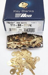 Taylor-Y11-Brass-Key-Blanks