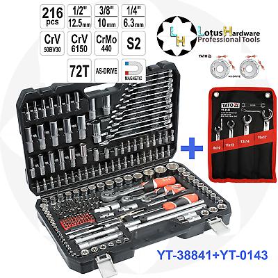 "4 Pcs//Set 1//2/"" 3//8/"" 1//4/"" CR-V Steel Ratchet Socket Wrench Adapters Spanner Kit"