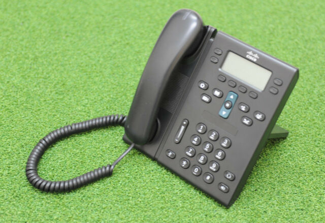 CISCO CP-6945-C-K9 Unified VoIP IP Phone Charcoal Standard Handset  - 1 Y WTY