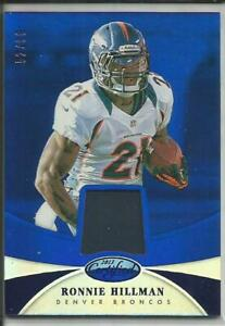 Details about 2013 Certified Mirror Blue Parallel Ronnie Hillman Jersey 52/99 #79 Broncos