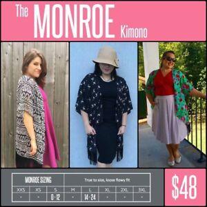 Lularoe-Monroe-Kimono-NWT-Pick-Your-Pattern-Sizes-Small-amp-Large