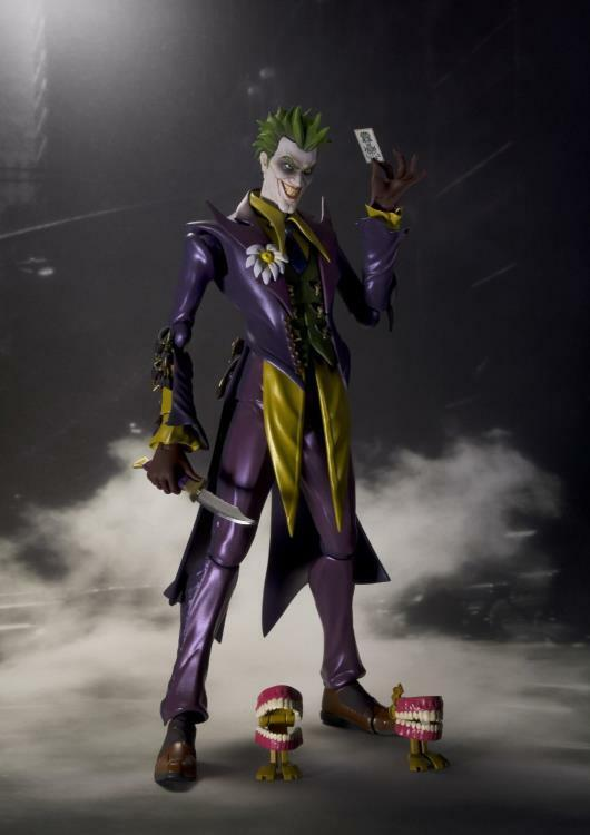 Joker DC Comics Injustice Version Bandai S.H. Figuarts New Nuovo Sigillato