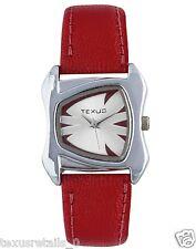 Texus(TXWW031) Red Strap Watch For Women/Girls