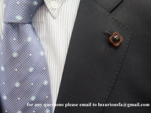 Lapel Boutonniere made with Genuine Horn