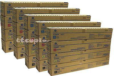 Same Day Shipping Genuine Konica TN324 CMYK Toner Set for BH C258 C308 C368