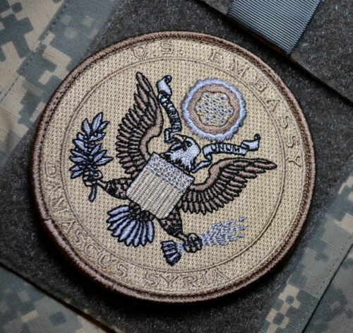 STATE DEPT WPS SECURITY DSS PMC CAMO INSIGNIA US EMBASSY Islamabad Pakistan