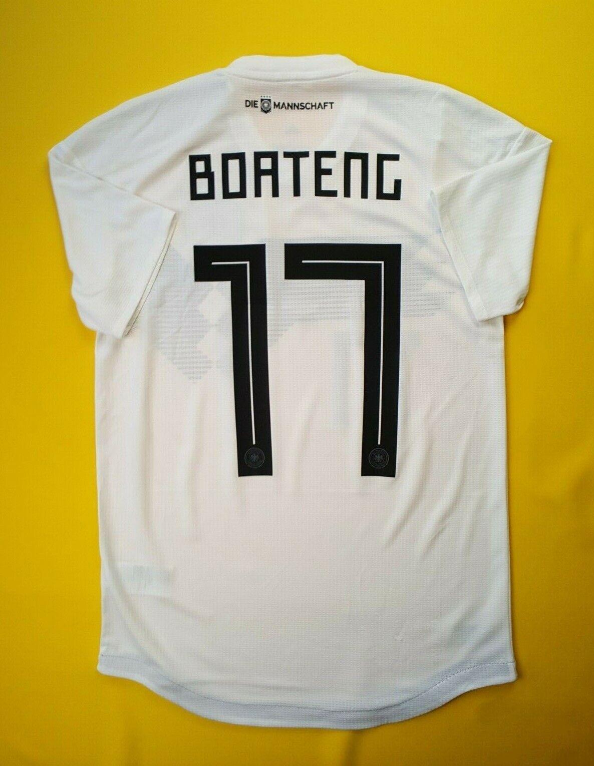 5+ 5 Boateng Alemania Autentic Jersey Camisa Casa pequeño de 2018 BR7313 Adidas ig93
