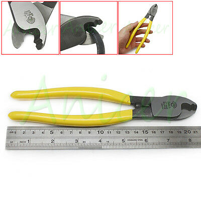 8.4 inch (214mm) Electric Cable Wire Cutter Cutting Plier Hand Tool