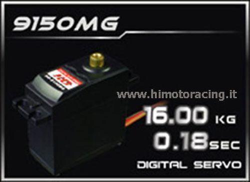 9150MG SERVO DIGITALE 16 kg energia HD 4,5V 6V INGRANAGGI  IN METtuttiO METAL GEAR  punti vendita