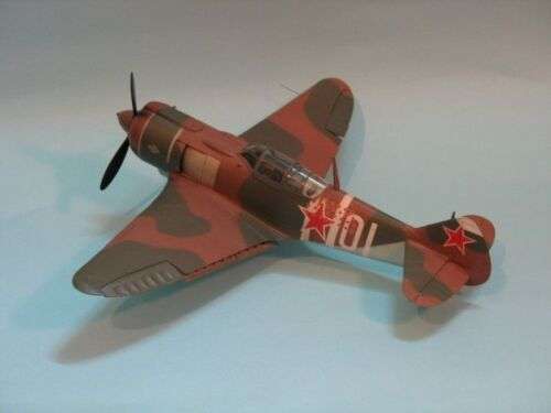 Lawotschkin La-5 FN   Jagdflugzeug 1:33   mit Lasercutteilen Modelik 14//06