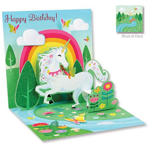 Up With Paper - UNICORN - Birthday - #UP-WP-1062