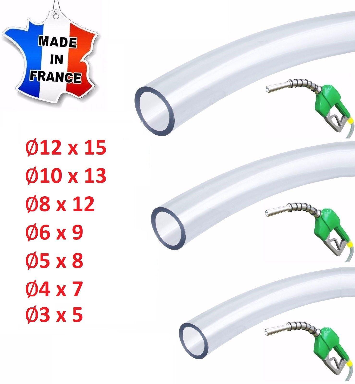 1m Kraftstoffschlauch Schlauch Druckschlauch 3,2//4//5//6//7//8//10mm Diesel Öl Benzin