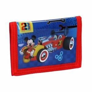 Children-039-s-Mickey-Mouse-Crazy-Velocidad-Bi-fold-Wallet-Disney