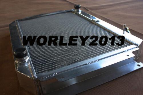 Aluminum radiator for HOLDEN Kingswood HG HT HK HQ HJ HX HZ V8 Chev engine MT