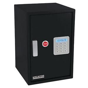 Kreator-Elektronischer-Safe-Haussafe-Stahltresor-LCD-Anzeige-5-mm-Tuerstaerke