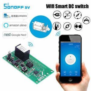 SONOFF-DC-5V-24V-WIFI-Wireless-Switch-Socket-SV-Module-APP-Remote-Control-NewHQ