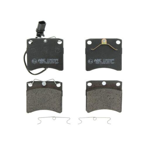 Bremsbelagsatz Scheibenbremse ABE C1W054ABE