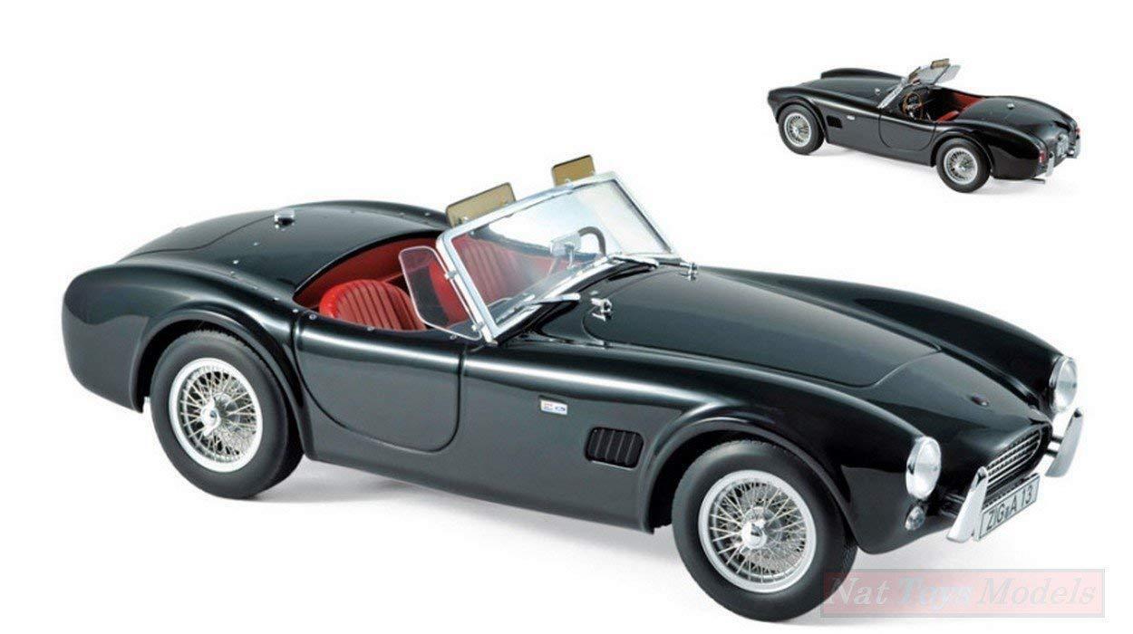 Norev 182754. Auto di collezione. Ac Cobra 289 1963 nero. Scala 1/18