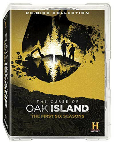 The Curse of Oak Island: The First Six Seasons - DVD - Free Shipping. - New