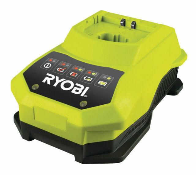 Ryobi RBC18L50 Akku Set 18V//5.0Ah Akku Schnellladegerät NEU RB18L50 BCL14181H