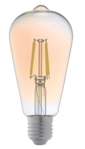LyvEco-ST64-Vintage-Filament-6W-LED-ES-E27-Dimmable-Gold-Amber-Glass