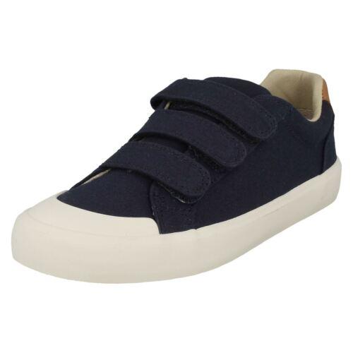 Cómic Clarks Niños Zapatos Lona Truco Ocasionales 8qfxBI1w