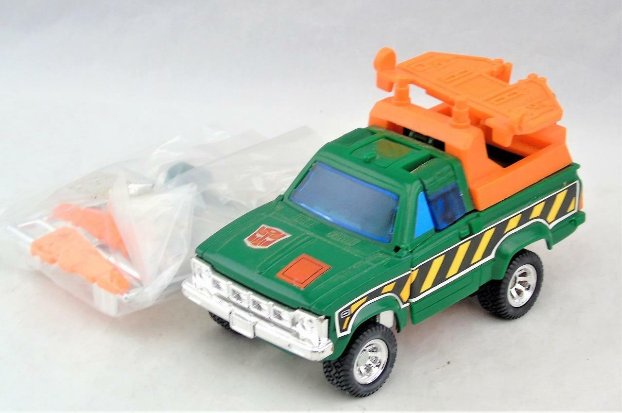 Vuelta de 10 dias Transformadores Autobot Elevador Coche G1 1985 Original Sellado Sellado Sellado armas completa  a la venta