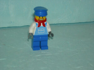 LEGO-Eisenbahn-4512-7939-Lokfuehrer-Figur-Minifigur